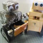 Blei- und Farbstift-Spitzroboter